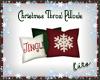 *C* Christmas Pillows