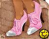 [ High Brogue Pink/White
