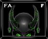 (FA)ChainHornsF Grn