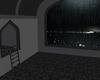 Rainy storm city