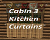 Cabin 3 Kitchen Curtains