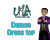Demon Dress Top