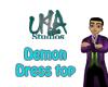 Demon Dress Top