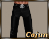 Leather Skull Chaps