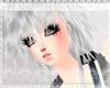 Silver crazy hair