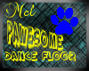 Pawesome Dance Floor