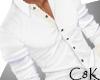 C8K White Collared Shirt