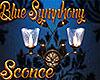 [M] Blue Symphony Sconce