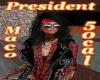 President Maco 50cal