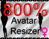 *M* Avatar Scaler 800%