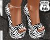 SD Zebra Heels