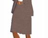 [LSB] Suit Skirt (Brown)