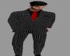 [BRI] Blk Pinstripe Suit