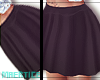 #Fcc|Silky Skirt @.Black