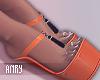 [Anry] Klara Shoes Orang
