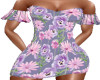 Lavender pop dress
