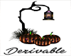 Pumpkin Decor Mesh