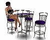 purple goth table
