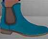 Teal Chelsea Boots 2 (M)