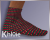 K xmas socks M