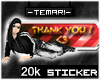 !T 20 000 cr donation <3