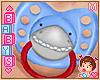 ! ✿KIDS Shark Paci