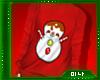 M| Snowman Red
