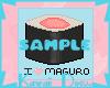 I Heart Maguro Sushi