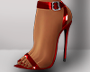 ṩ|Latex Heel Red