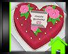 ! HEART BIRTHDAY CAKE