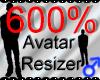 *M* Avatar Scaler 600%