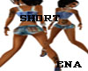 shortties blue