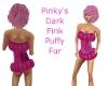 PinkysDarkPink Puffy Fur