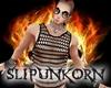 punk net tank top