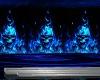 BLUE FIRE SKULL CLUB