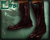 E~ Shiny leather boots