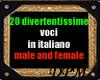 Voci Comiche Italiane