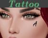 Tattoo Left Cheek A