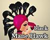 Mane Hawk Black