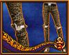 Ripped Leopard Skinnies