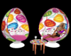 Easter Egg  chairs