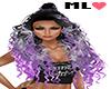 ML� Long Curly Grape