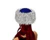 Blue Furr Hat