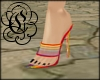 Rainbow Stiletto Slipper