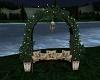 Moonlit Garden Bench