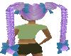 Skys PurpleHairDo Braids