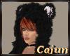Black Fur Bear Hat