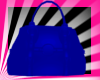 BLUE HANDBAG PURSE