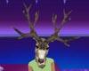 s~n~d deer head