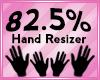Hand Scaler 82.5%